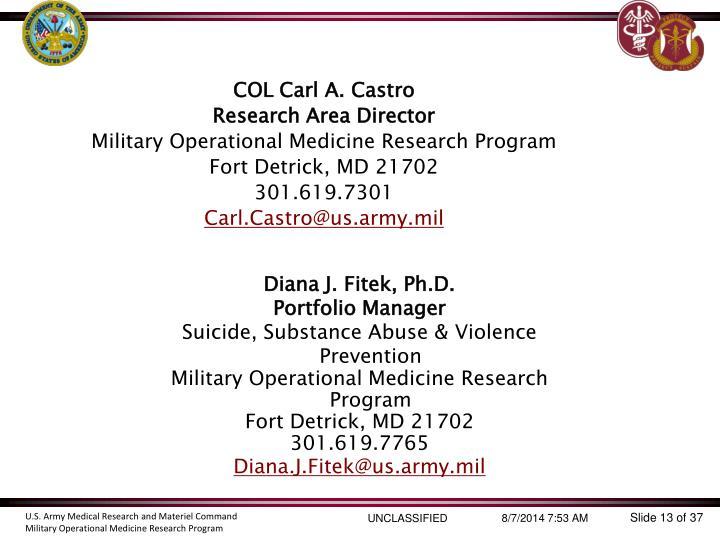 Diana J. Fitek, Ph.D.