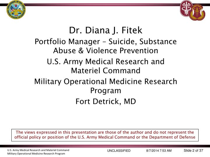 Dr. Diana J. Fitek