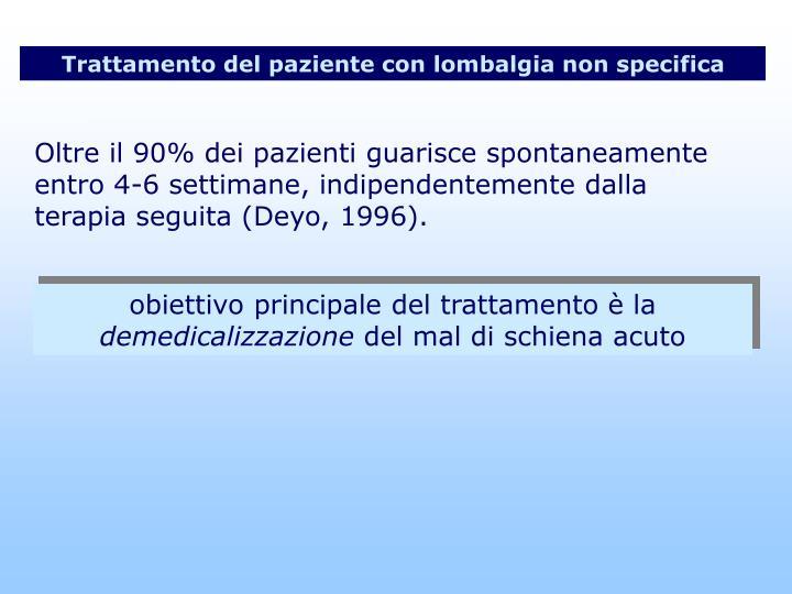 Osteochondrosis di reparto lombare e sacrale di una spina dorsale 2 stadi