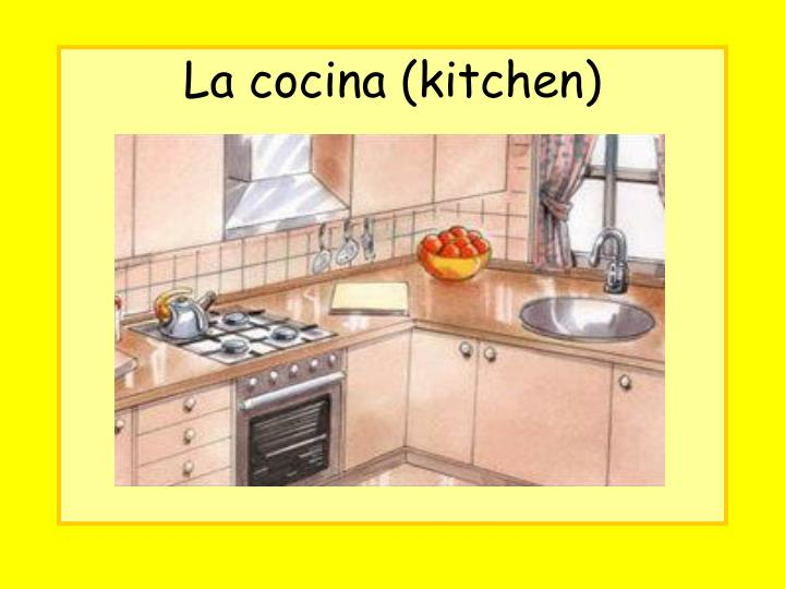 La cocina (kitchen)