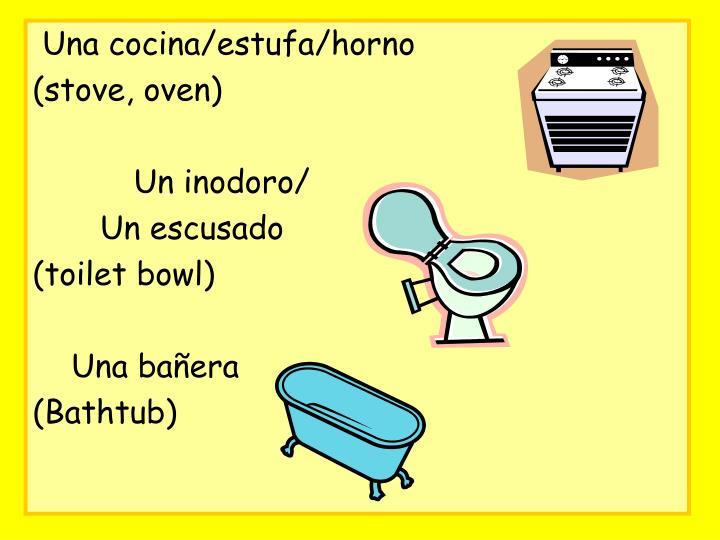 Una cocina/estufa/horno
