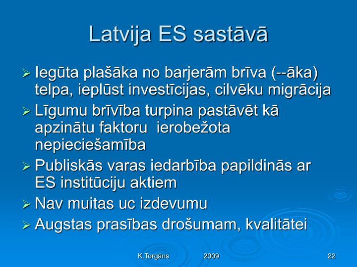 Latvija ES sastāvā