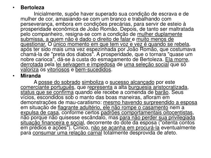 Bertoleza