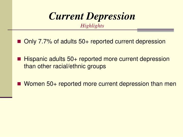 Current Depression