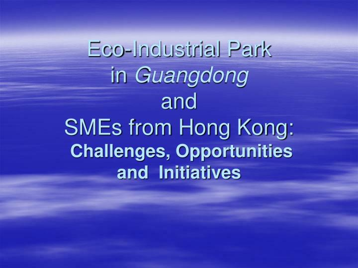 Eco-Industrial Park                   in