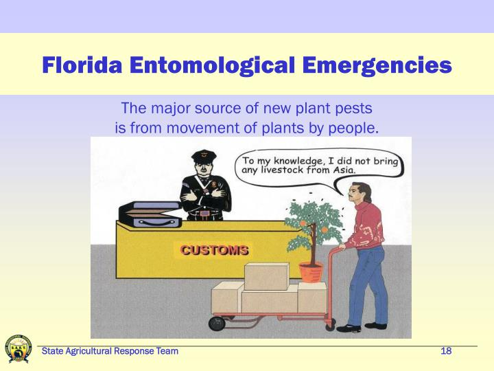 Florida Entomological Emergencies