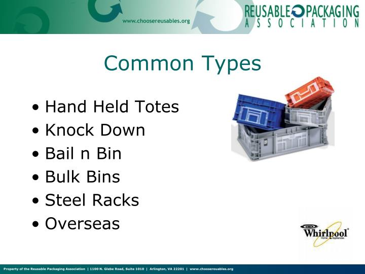 Common Types