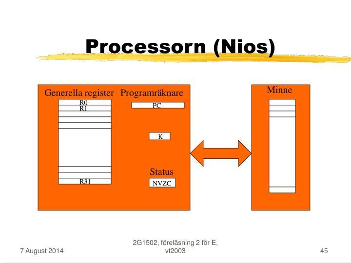 Processorn (Nios)