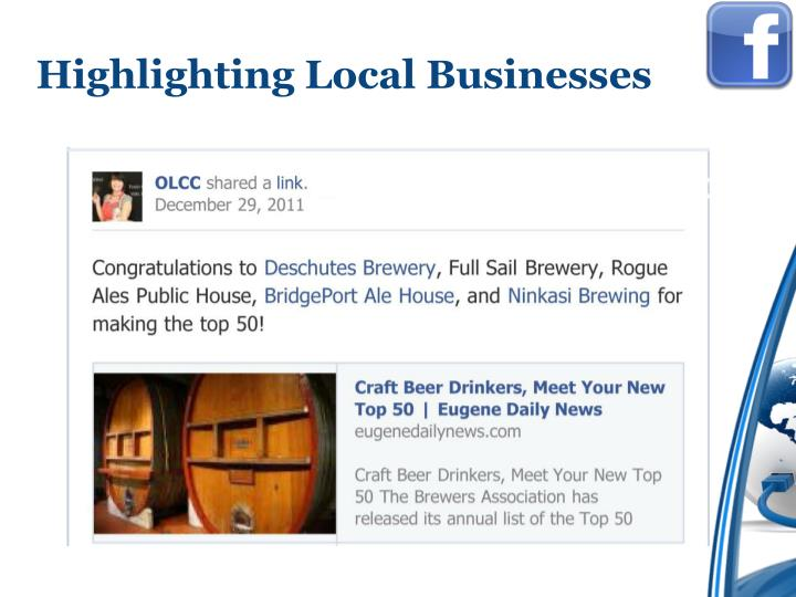 Highlighting Local Businesses