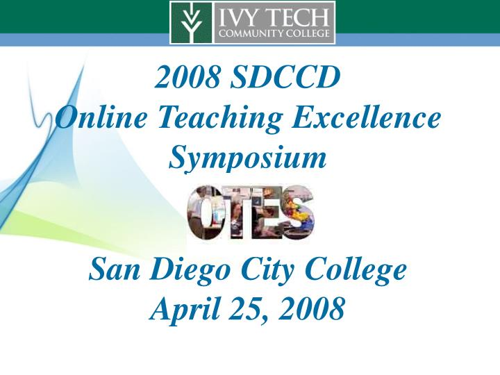 2008 SDCCD