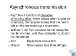 asynchronous transmission3