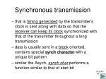synchronous transmission1