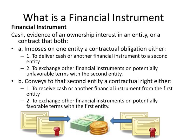 What is a financial instrument