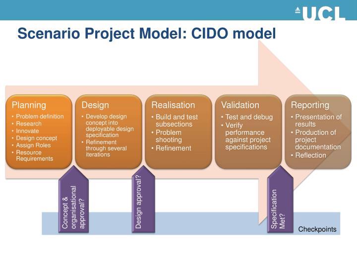Scenario Project Model: