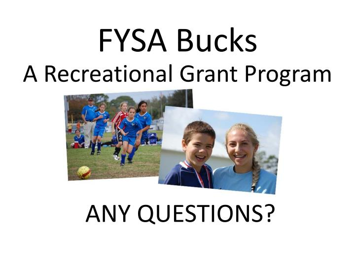 FYSA Bucks
