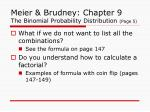 meier brudney chapter 9 the binomial probability distribution page 5