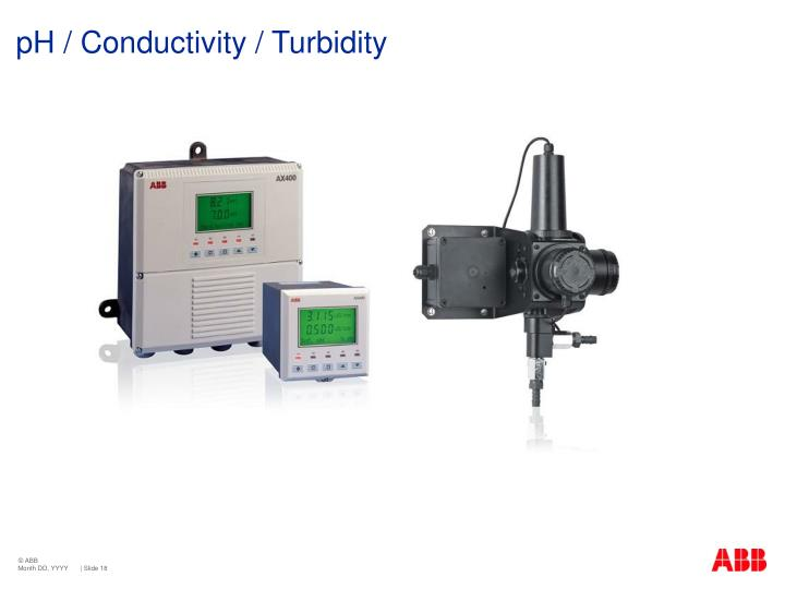 pH / Conductivity / Turbidity