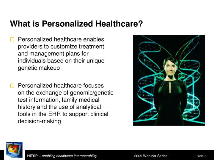 What is Personalized Healthcare?