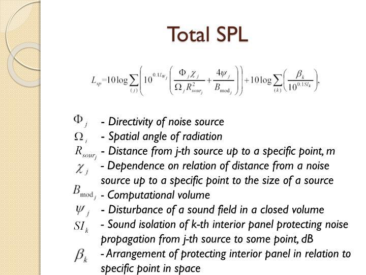 Total SPL