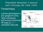 alterazioni minzionali e sessuali post chirurgia del colon retto8