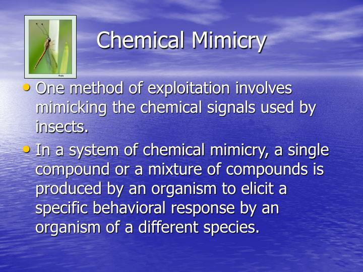 Chemical mimicry2