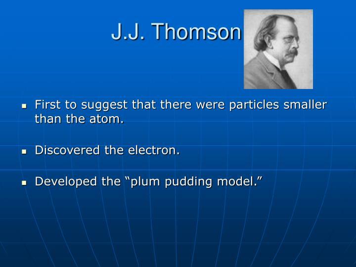 J.J. Thomson: