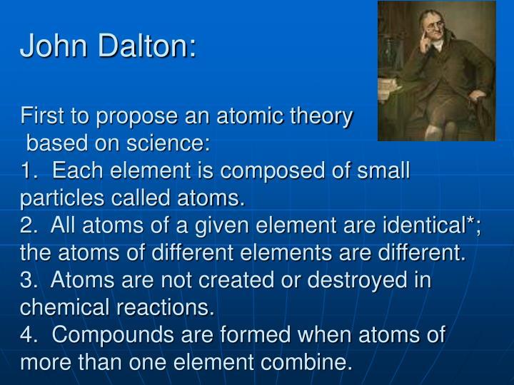 John Dalton: