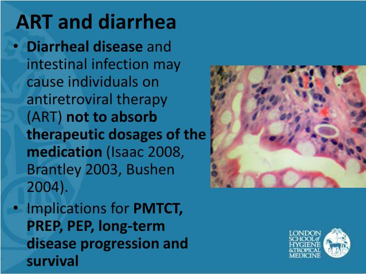 ART and diarrhea