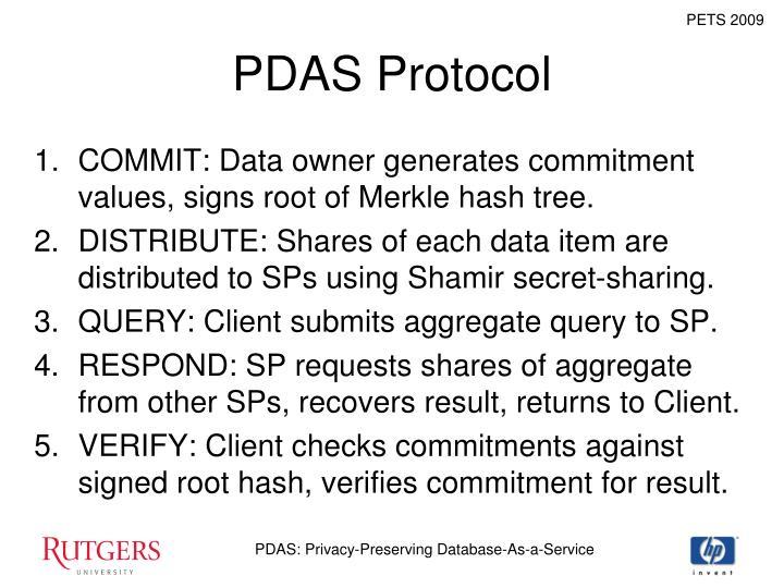 PDAS Protocol