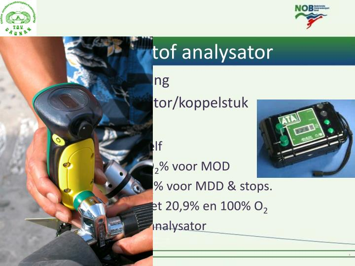 6. Zuurstof analysator