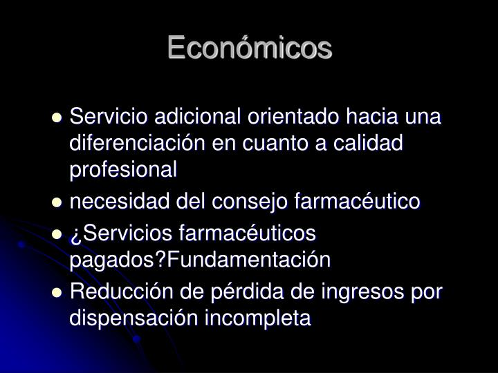 Económicos