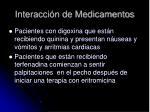 interacci n de medicamentos1