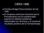 obra 1990