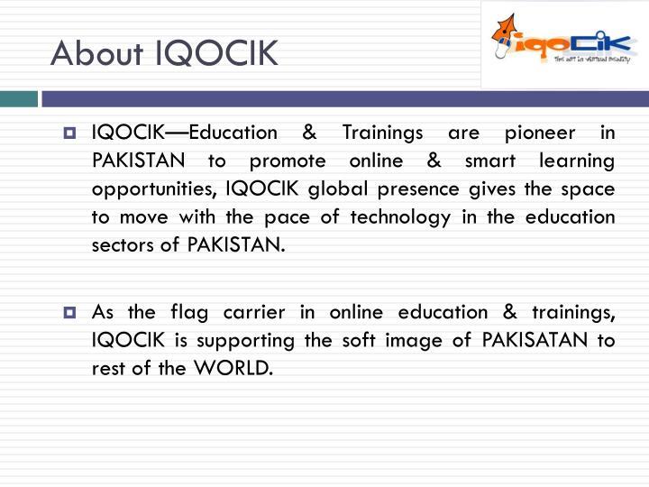 About IQOCIK