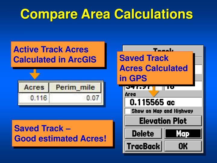 Compare Area Calculations