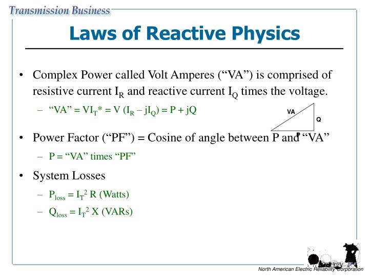 Laws of Reactive Physics