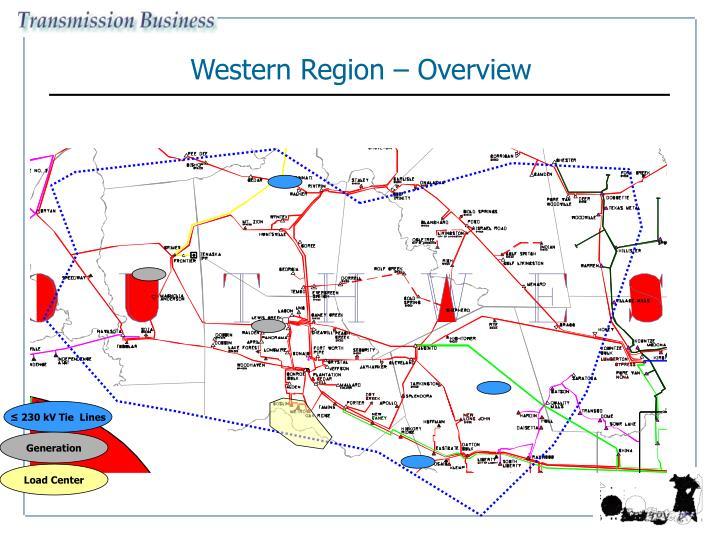 Western Region – Overview