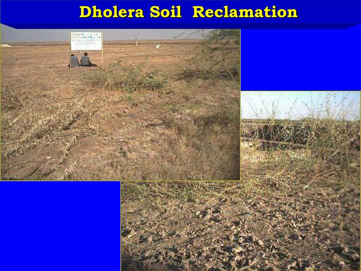 Ppt dholera soil reclamation powerpoint presentation for Soil reclamation