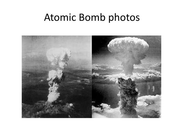 Atomic Bomb photos