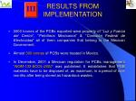results from implementation10