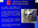 results from implementation2
