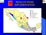 results from implementation7