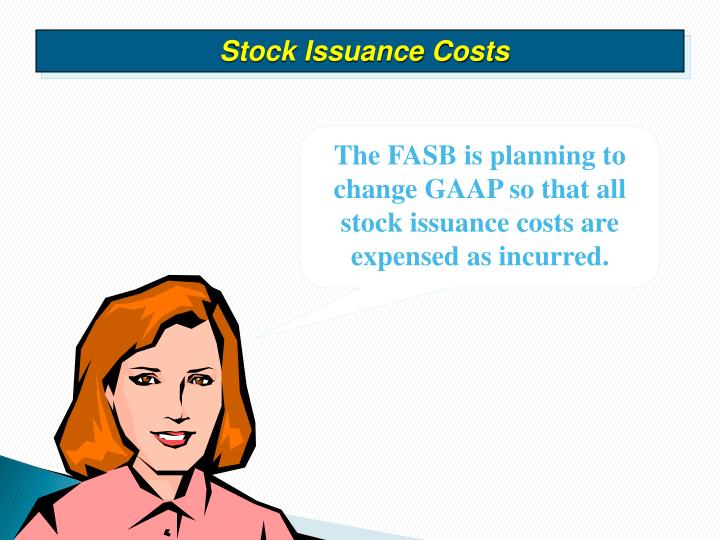 Stock Issuance Costs