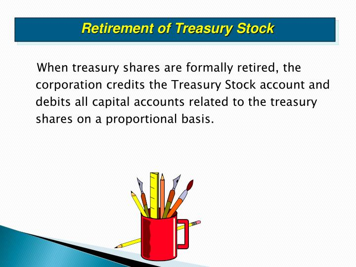 Retirement of Treasury Stock