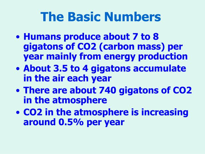 The Basic Numbers