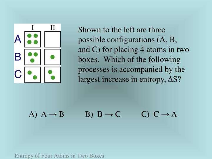 Shown to the left are three possible configurations (A, B,