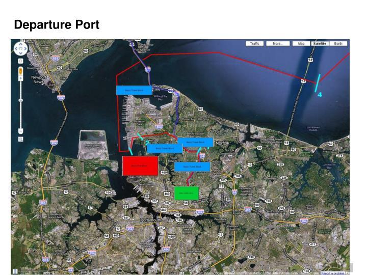 Departure Port