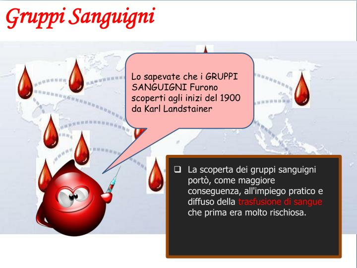 Gruppi Sanguigni