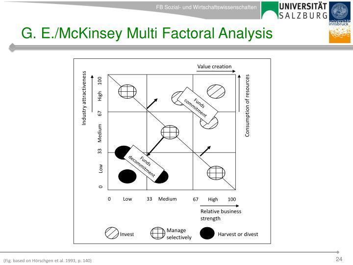 G. E./McKinsey Multi