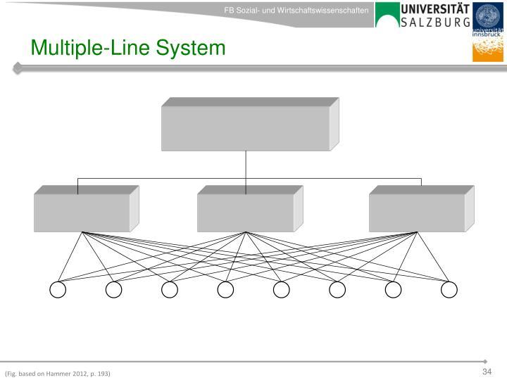 Multiple-Line System